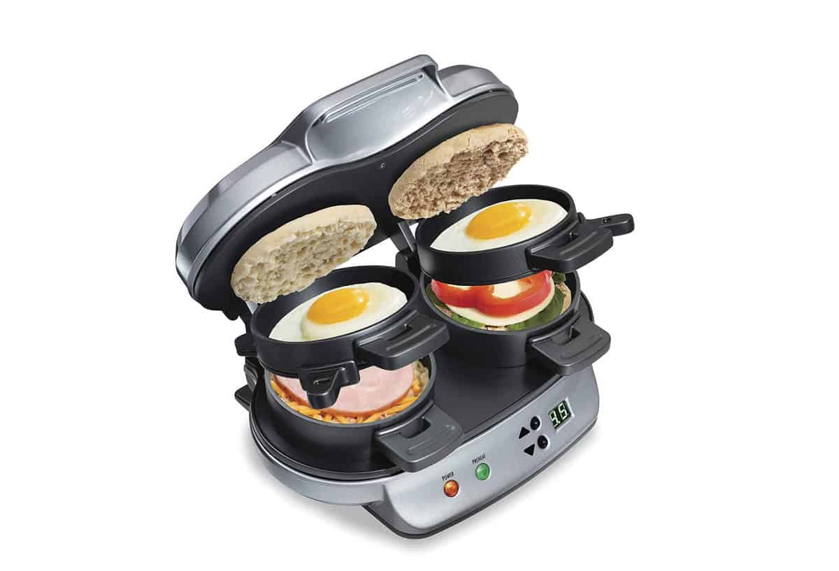 Hamilton Beach Dual Breakfast Sandwich Maker | Best Amazon Products You Never Knew You Needed
