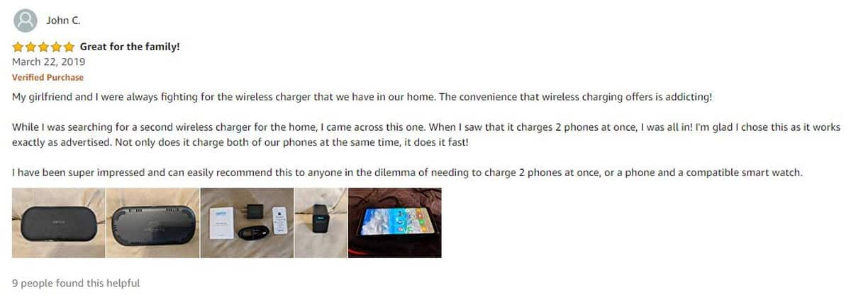 John C. Review CHOETECH Dual Wireless Charger wireless charging pad | CHOETECH Qi Fast Dual Wireless Charging Pad | Product Review