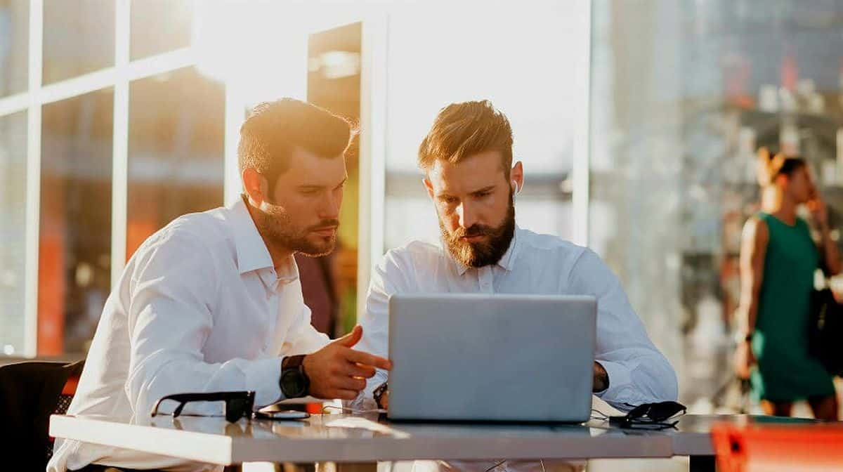 two young bearded caucasian | Tools To Make Job Hunting A Little Easier