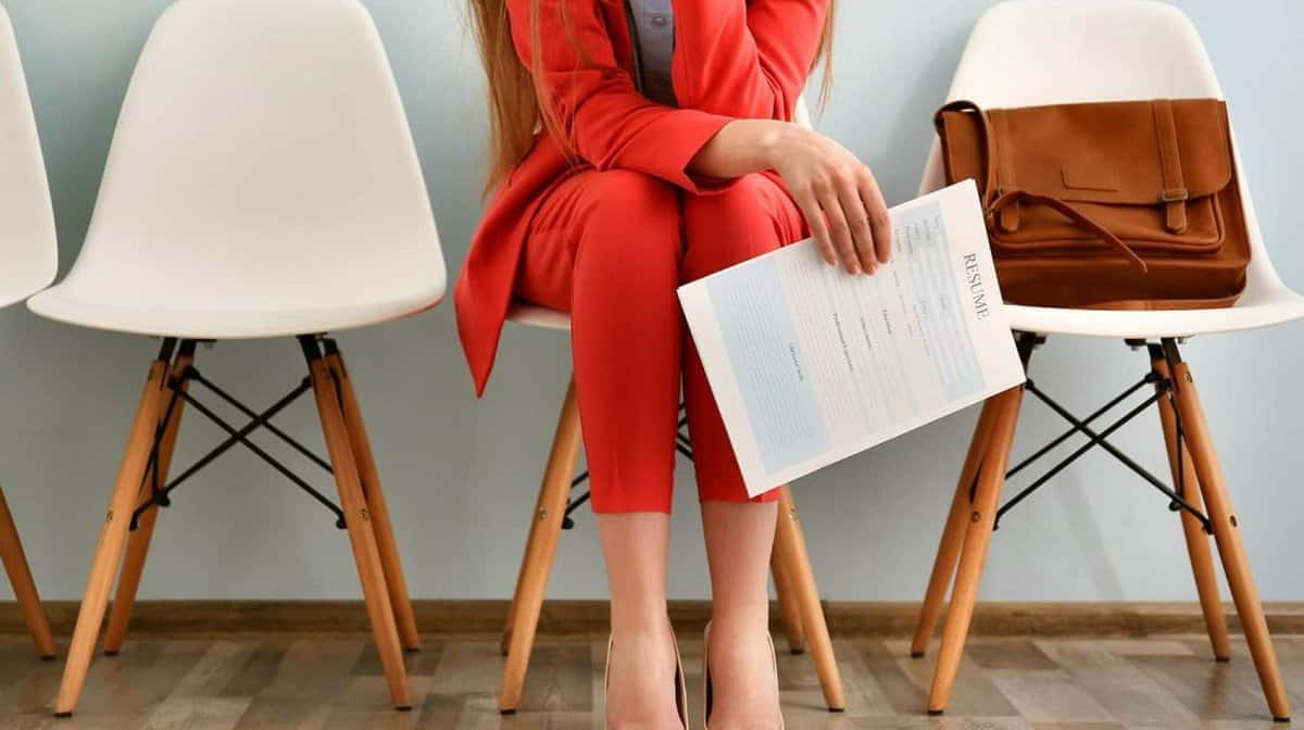 A woman waiting for an interview | Tools To Make Job Hunting A Little Easier