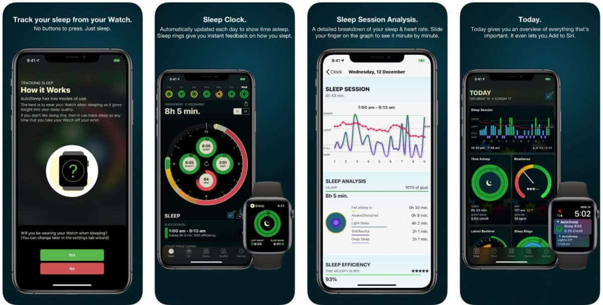 AutoSleep Tracker for Watch | Monitor Sleep With These Sleep Tracker Apps