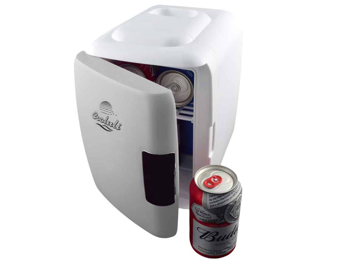Cooluli Mini Fridge Electric Cooler and Warmer | Cool Car Gadgets On Amazon