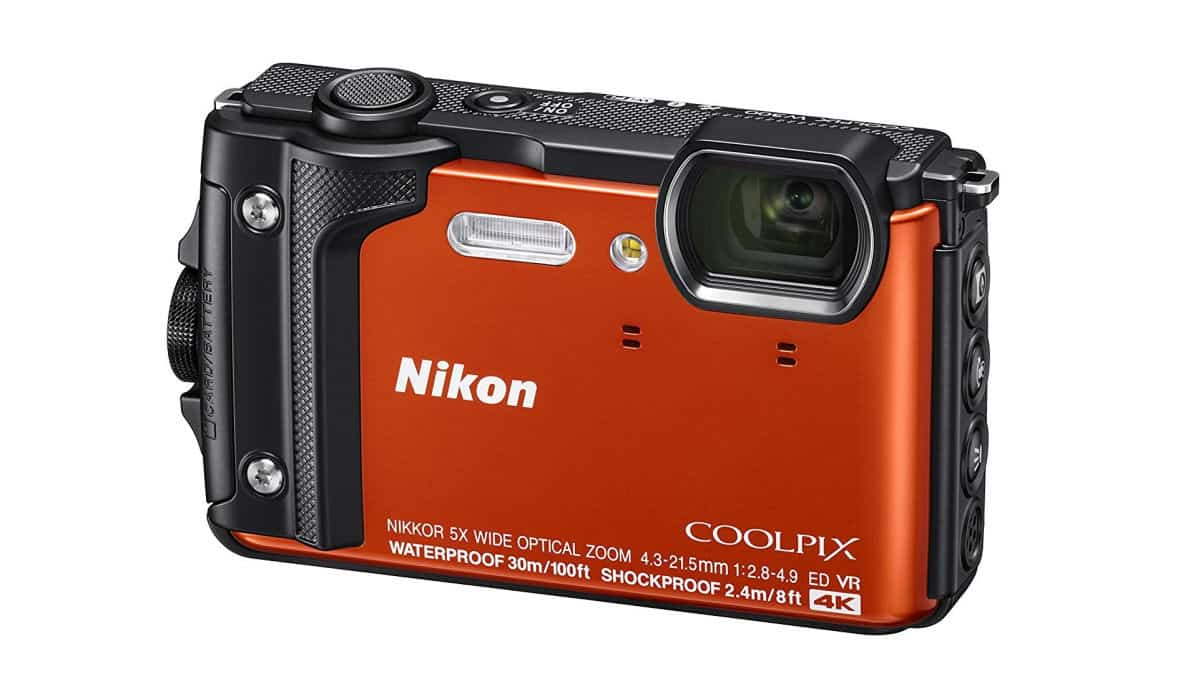 Nikon W300 Waterproof Underwater Digital Camera | Waterproof Gadgets To Lounge By The Pool With