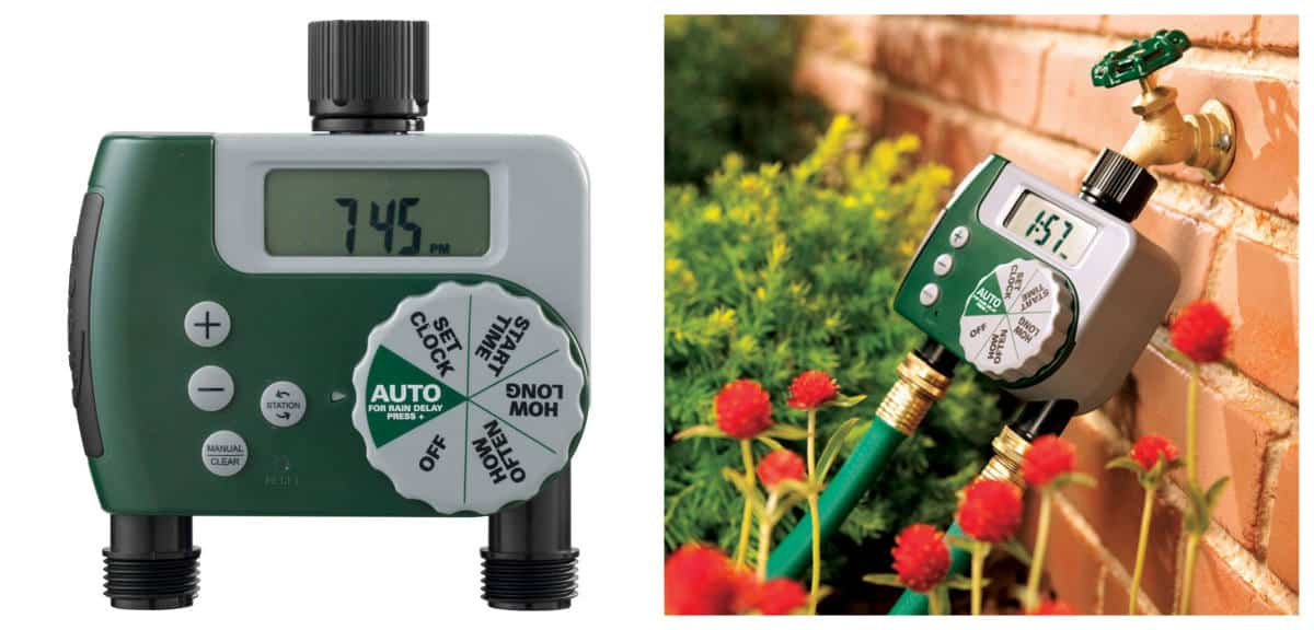 Orbit 58910 Programmable Hose Faucet Timer | Best Garden Tools And Gadgets Every Gardener Must Have