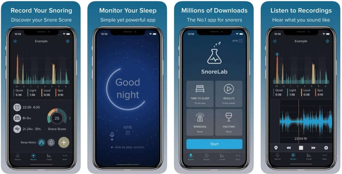 SnoreLab | Monitor Sleep With These Sleep Tracker Apps