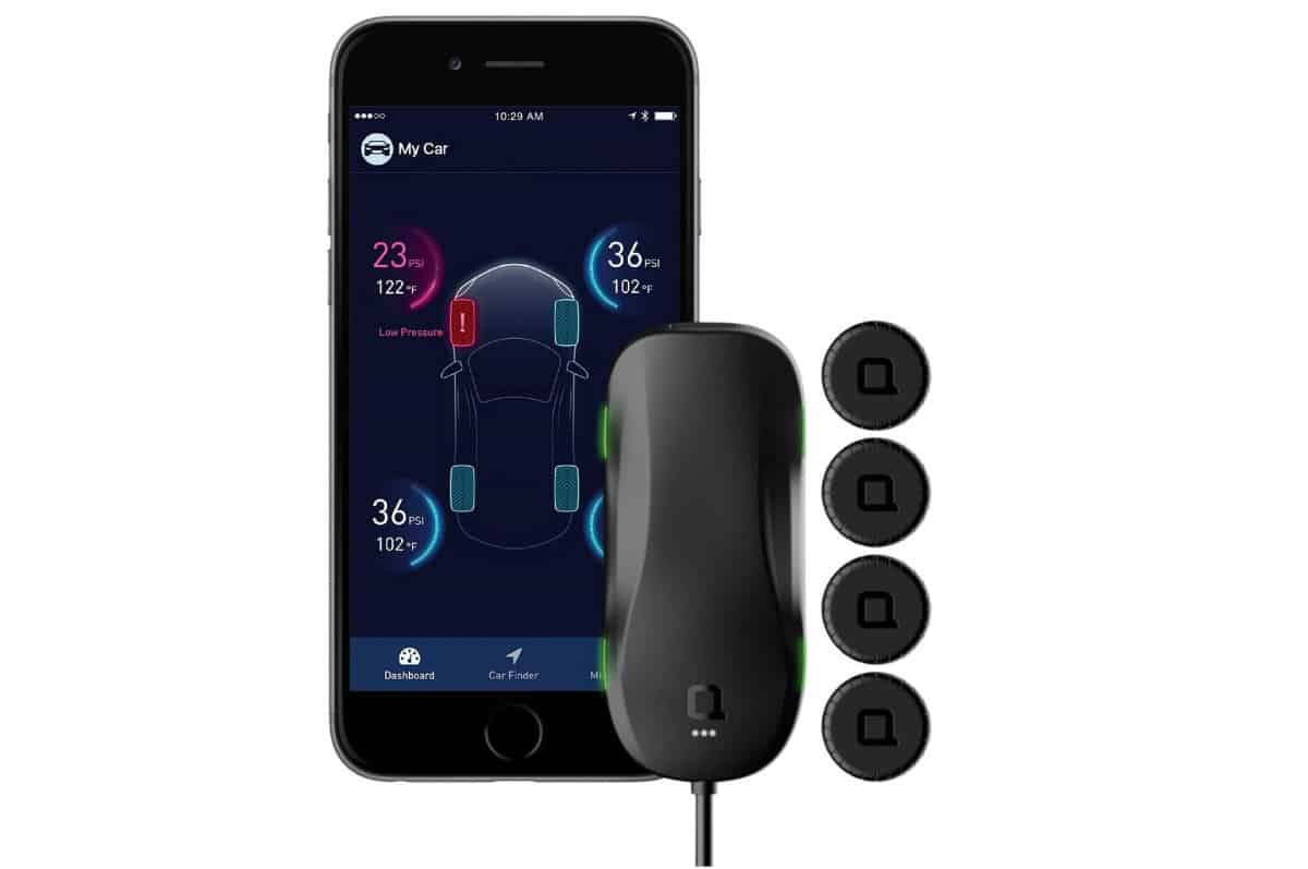 Nonda ZUS Smart Tire Safety Monitor | Cool Car Gadgets On Amazon