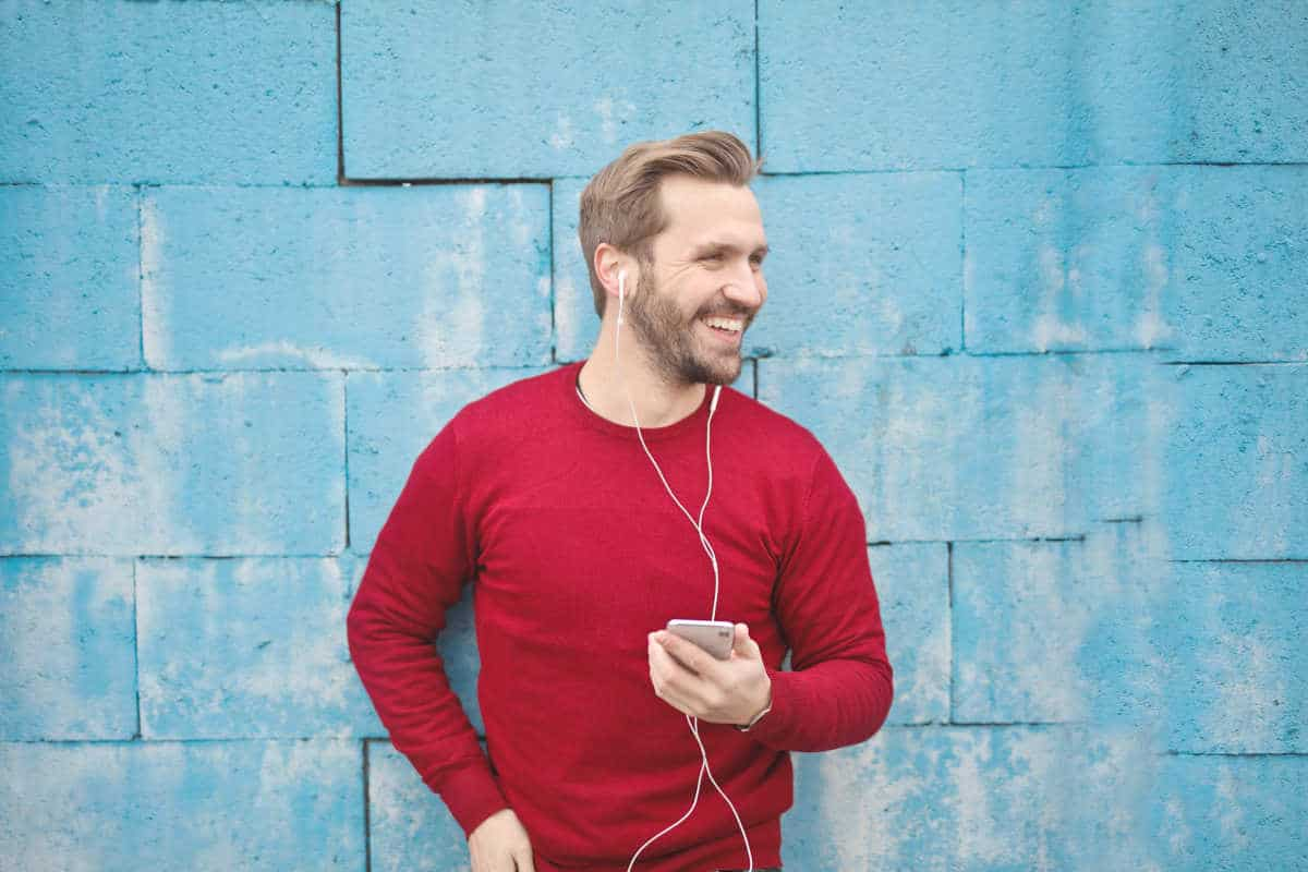 Man listening to music   Don't Dump Your Old Phone: 15 Things You Can Do With Your Old Smartphone