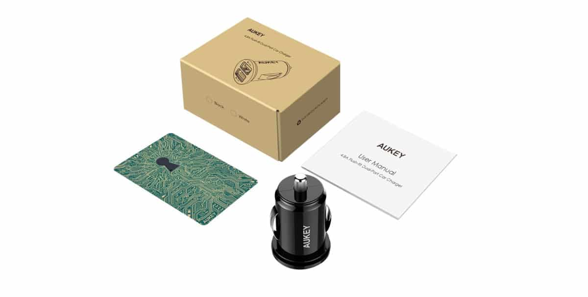 AUKEY Car Charger | Tech Gifts For Dad on Amazon That He Will Surely Love