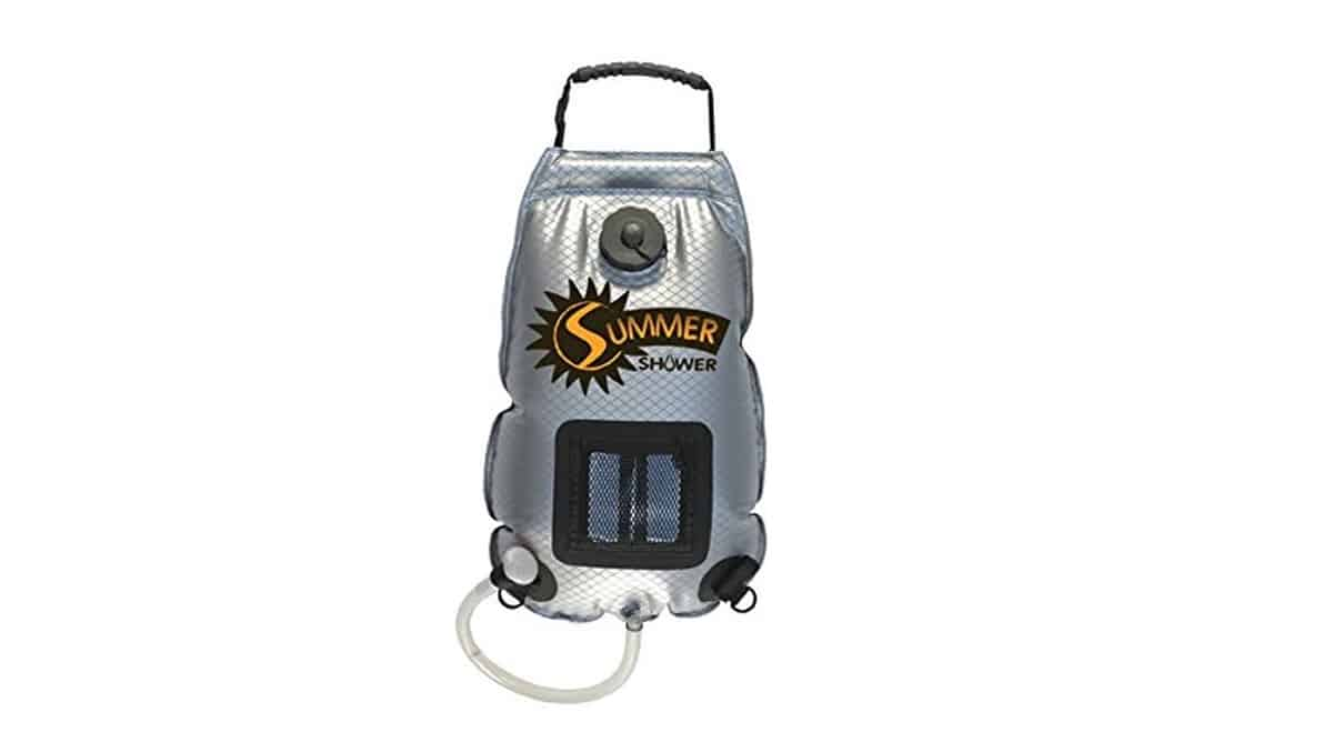 Advanced Elements (SS761) Summer Solar Shower - 3 Gallon | Cool Camping Must-Haves To Survive A Weekend Outdoors