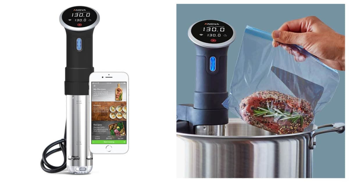 Anova Culinary Sous Vide Precision Cooker | Smart Kitchen Decor And Gadgets That Will Make Cooking More Fun