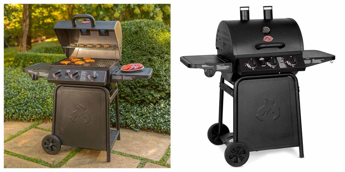 Char-Griller E3001 Grillin' Pro 40,800-BTU Gas Grill | Best Outdoor Grills on Amazon Under $200 | Outdoor Grill