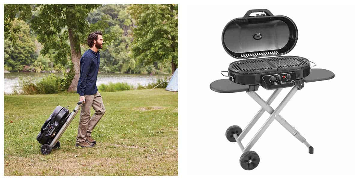 Coleman RoadTrip 285 Portable Stand-Up Propane Grill | Best Outdoor Grills on Amazon Under $200 | Outdoor Grill