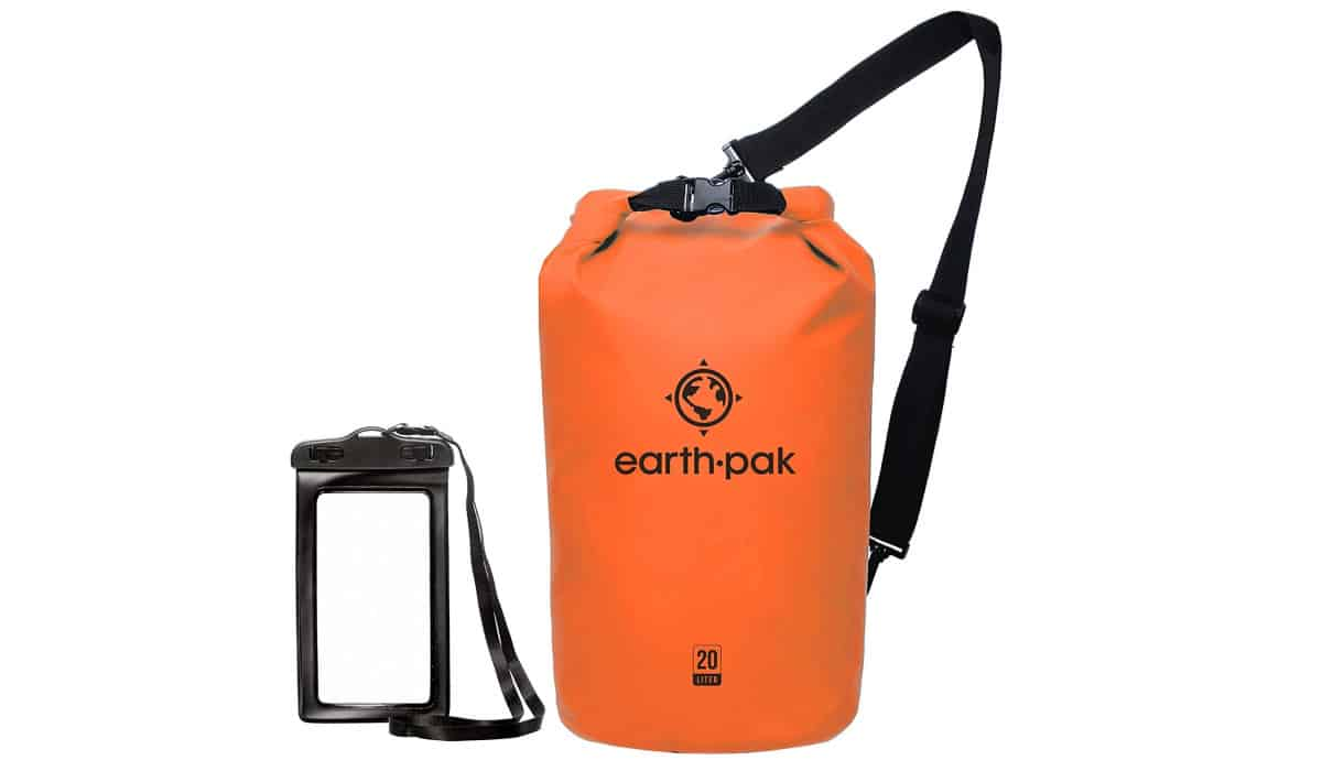 Earth Pak -Waterproof Dry Bag | Cool Camping Must-Haves To Survive A Weekend Outdoors