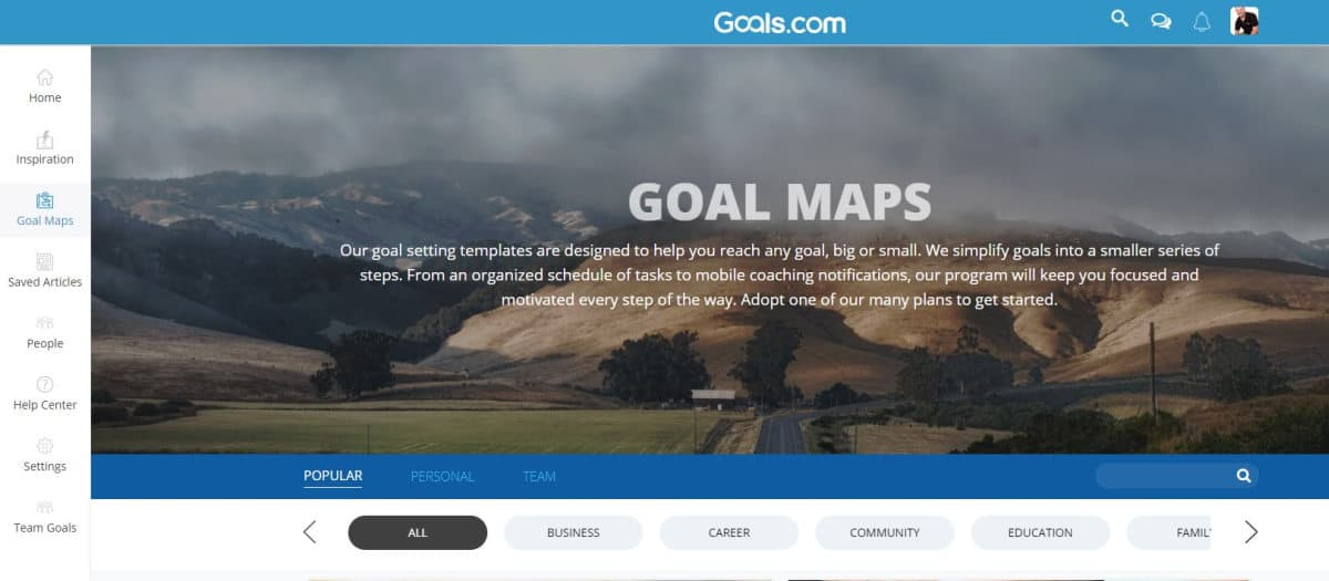 Goal Maps | Mr. Noobie's Review of Goals.com's Habit Tracker