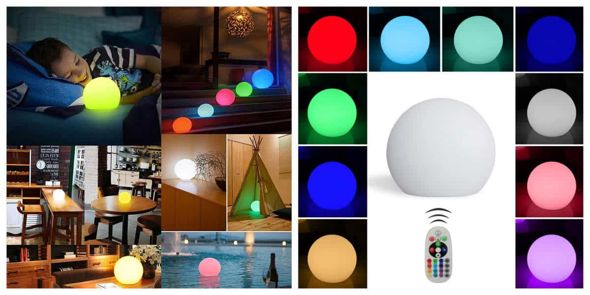 LED Ball Light | Outdoor Tech Gadgets For Your Backyard