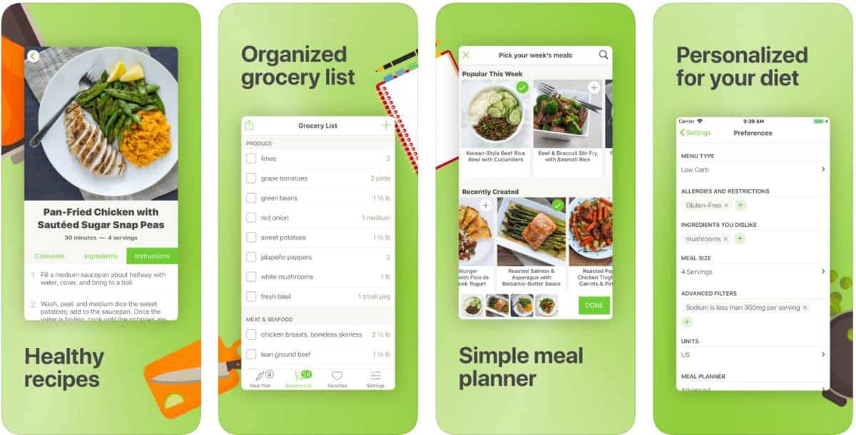Mealime Meal Plans & Recipes | Family Meal Planning Made Easy With These Apps