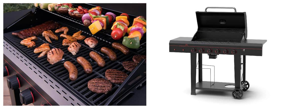 Megamaster 720-0983 Propane Gas Grill | Best Outdoor Grills on Amazon Under $200 | Outdoor Grill
