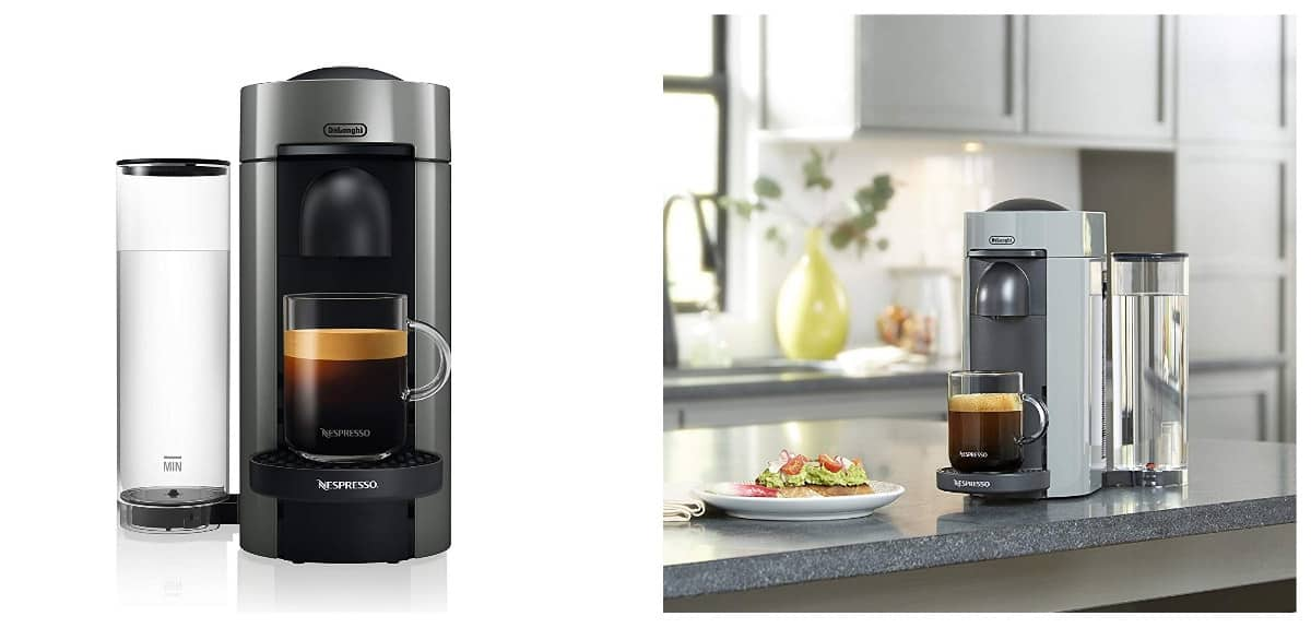 Nespresso VertuoPlus Coffee and Espresso Maker | Smart Kitchen Decor And Gadgets That Will Make Cooking More Fun