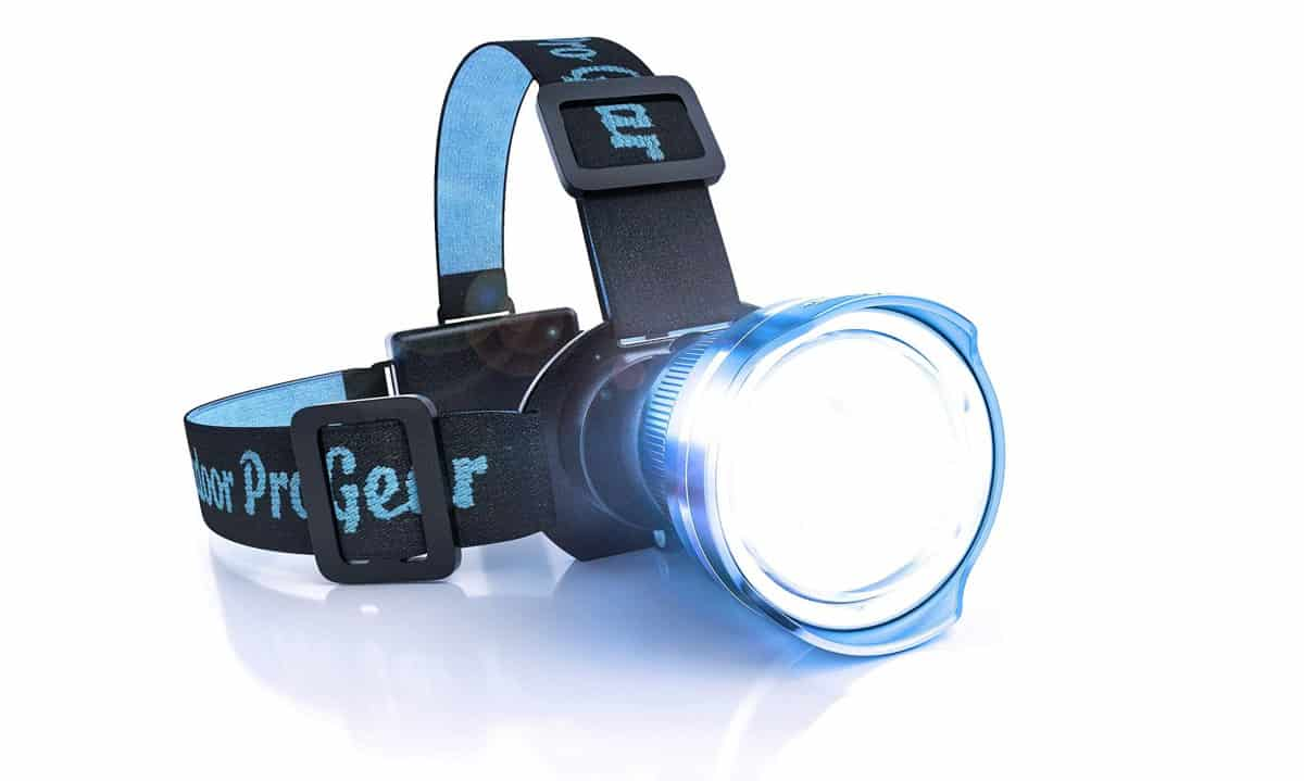 Outdoor Pro Gear Lighthouse Beacon 1000 LED Headlamp | Outdoor Survival Gear And Gadgets on Amazon Under $100