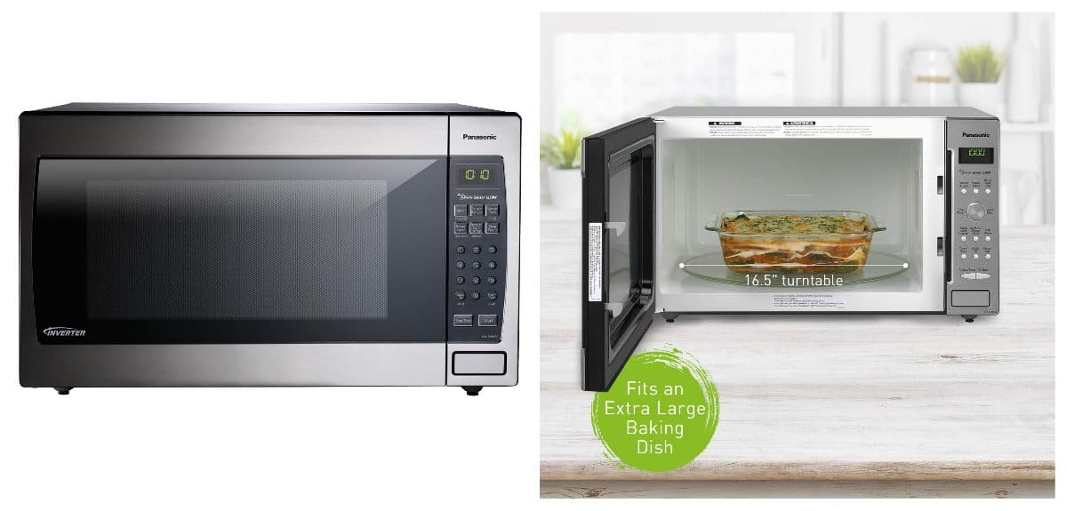 Panasonic Microwave | Smart Kitchen Decor And Gadgets That Will Make Cooking More Fun