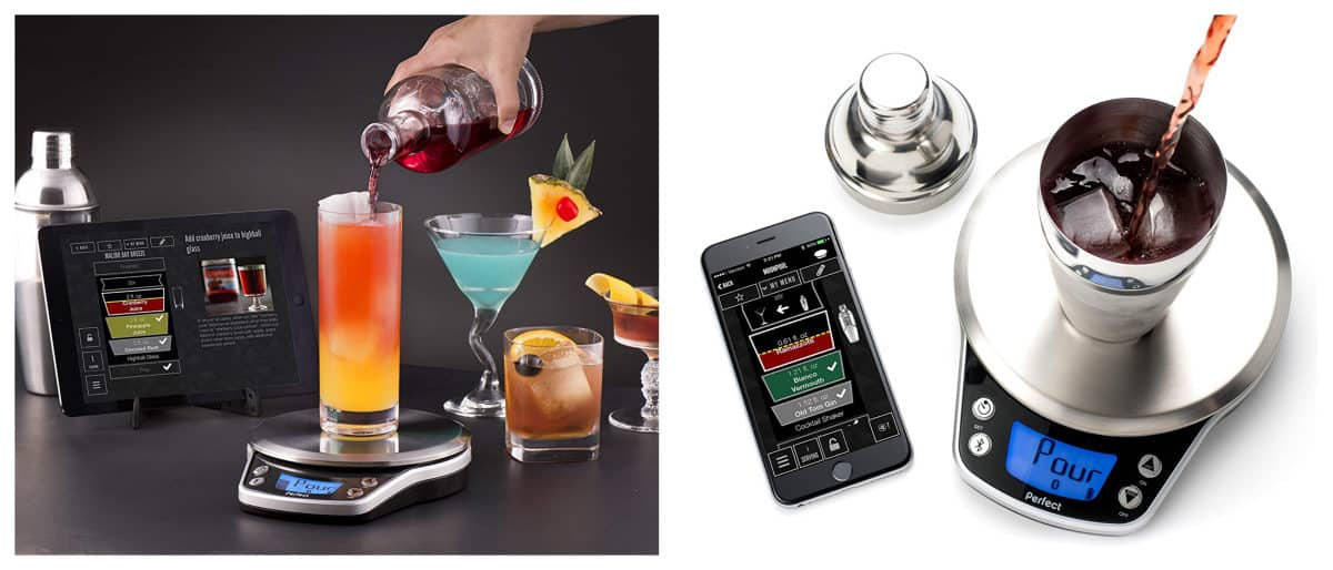 Perfect Drink PRO Smart Scale + Recipe App | Outdoor Tech Gadgets For Your Backyard