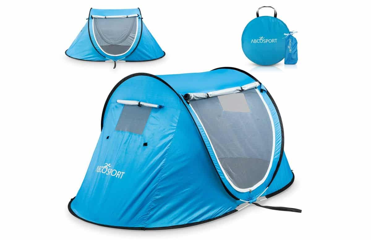 Pop-up Tent an Automatic Instant Portable Cabana Beach Tent | Best Kid's Camping Gear on Amazon (A Great Invest For Summer!)