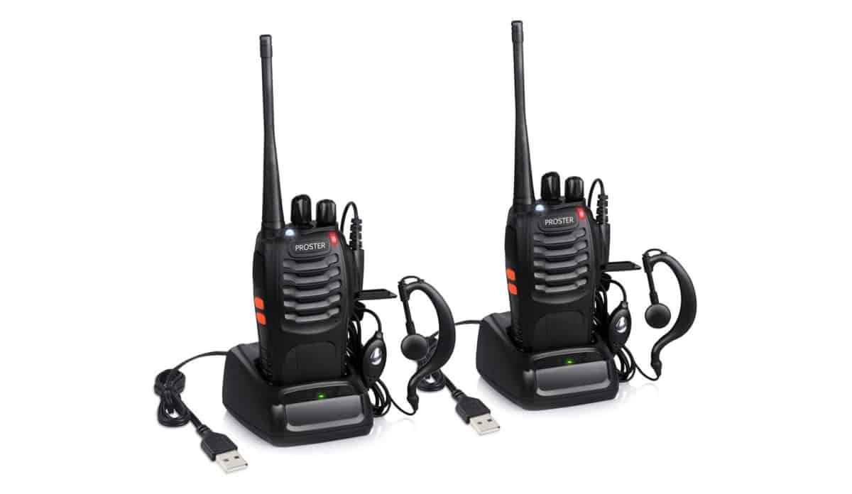 Proster Rechargeable Walkie Talkies Kids | Outdoor Survival Gear And Gadgets on Amazon Under $100