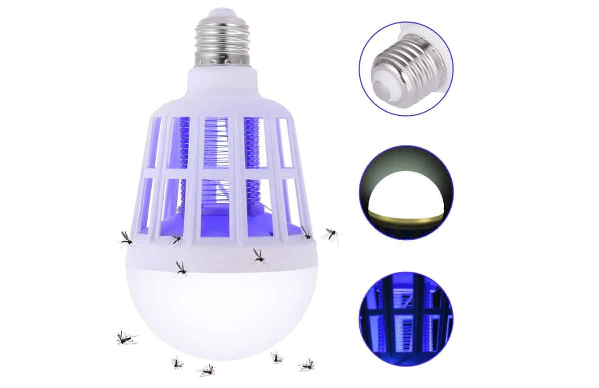 Sunnest Bug Zapper Light Bulb, 2 in 1 Mosquito Killer Lamp | Bug Zapper: How Does It Work And Which One Should You Get?