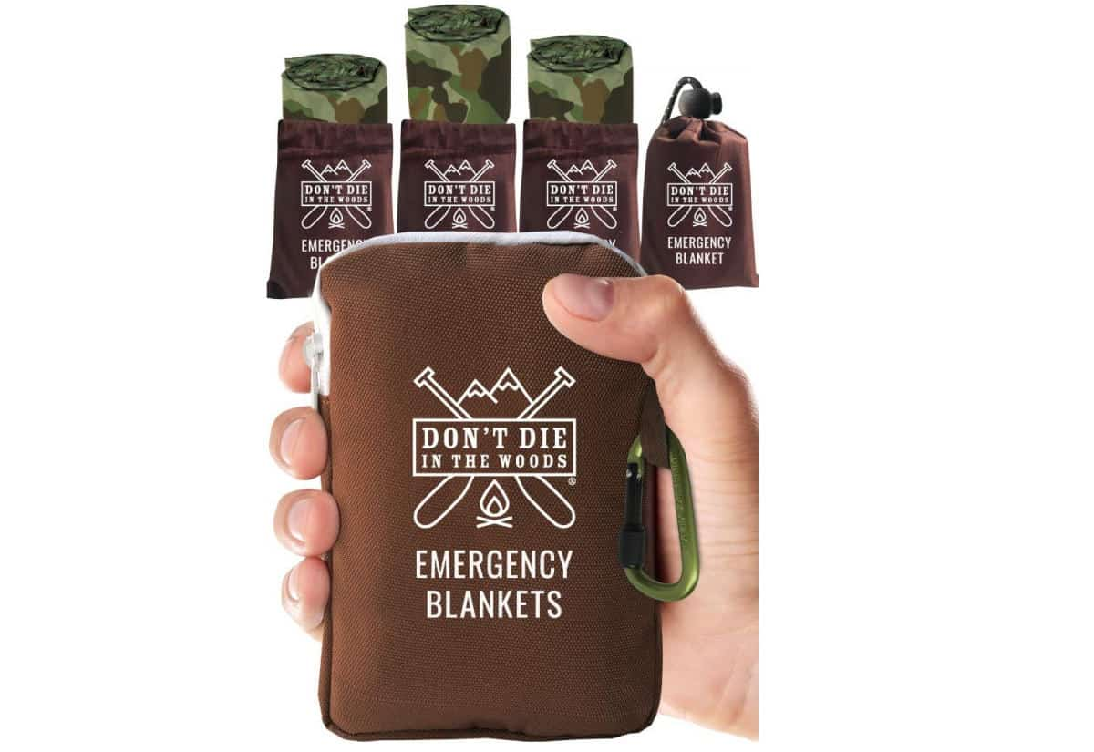 World's Toughest Emergency Blankets | Outdoor Survival Gear And Gadgets on Amazon Under $100