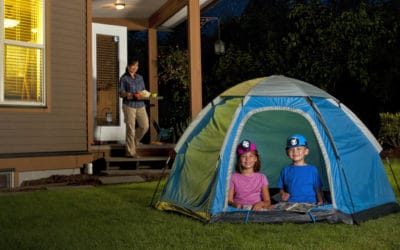 Feature | A backyard campout |Outdoor Tech Gadgets For Your Backyard