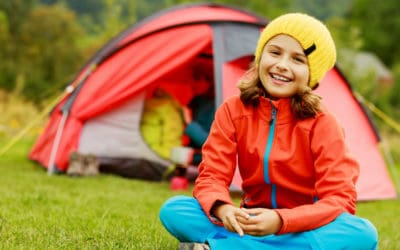 Featured | Camp in the tent - family on the camping | Top Kids' Camping Gear On Amazon