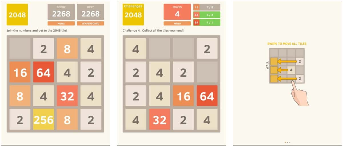 2048 | Top Tablet Games For Seniors and The Elderly | games for seniors