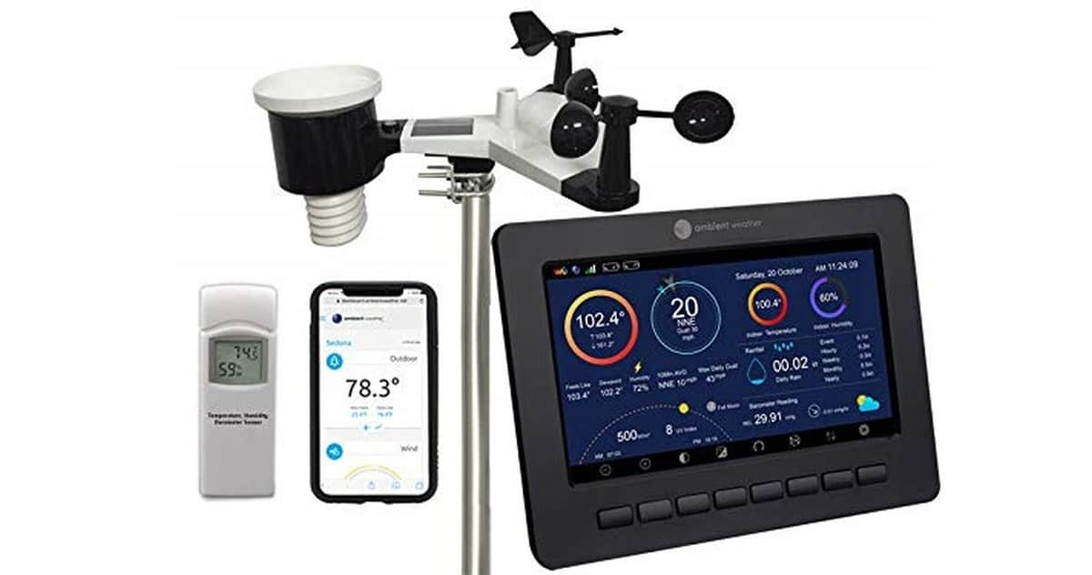 Ambient Weather WS-2000 Smart Weather Station | Robotic Lawn Mowers and Other Smart Gadgets for the (Hard) Yard Work | robot lawn mower