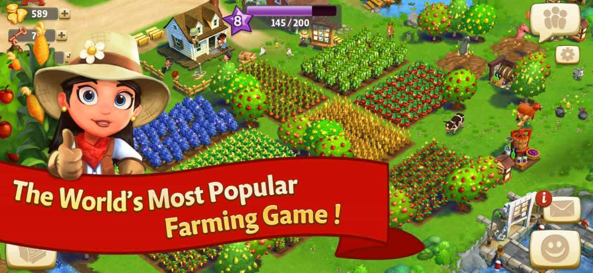 FarmVille 2: Country Escape | Top Tablet Games For Seniors and The Elderly | best android tablet games
