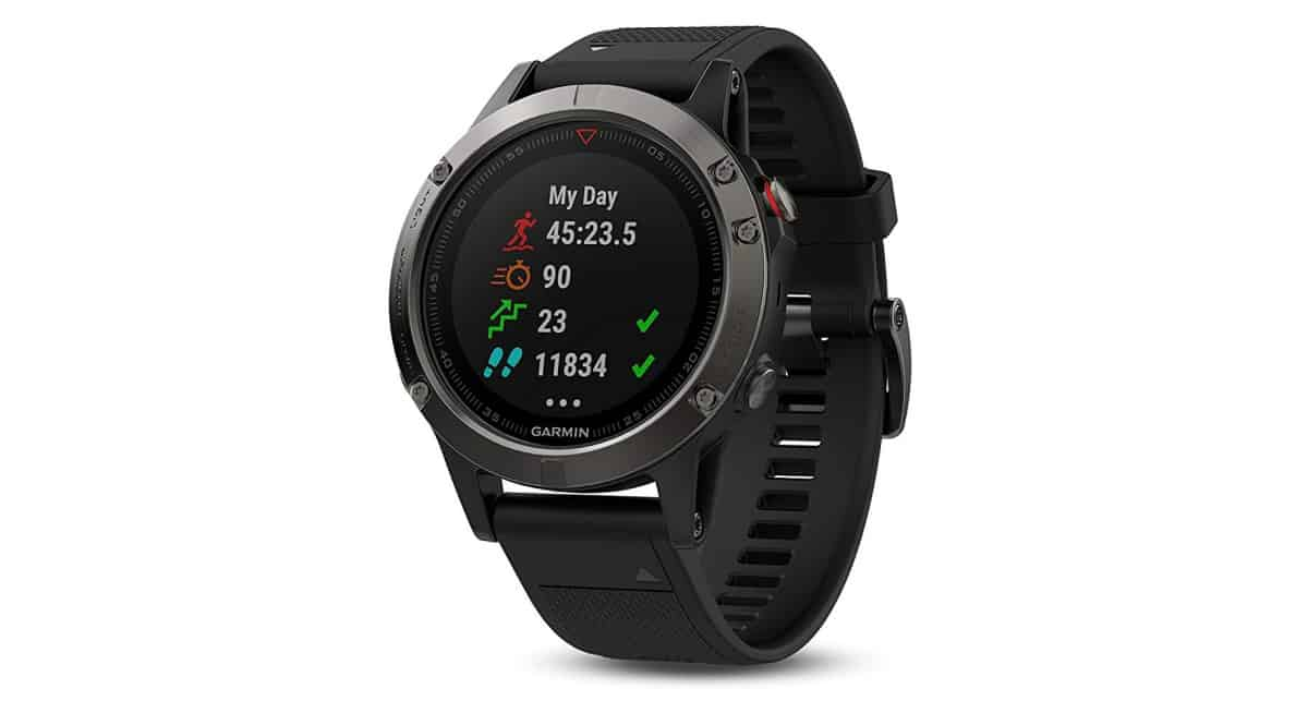 Garmin Fenix 5 Sapphire - Black with Black Band | Best Hiking Gear and Gadgets You Should Buy This Fall | cool hiking gear