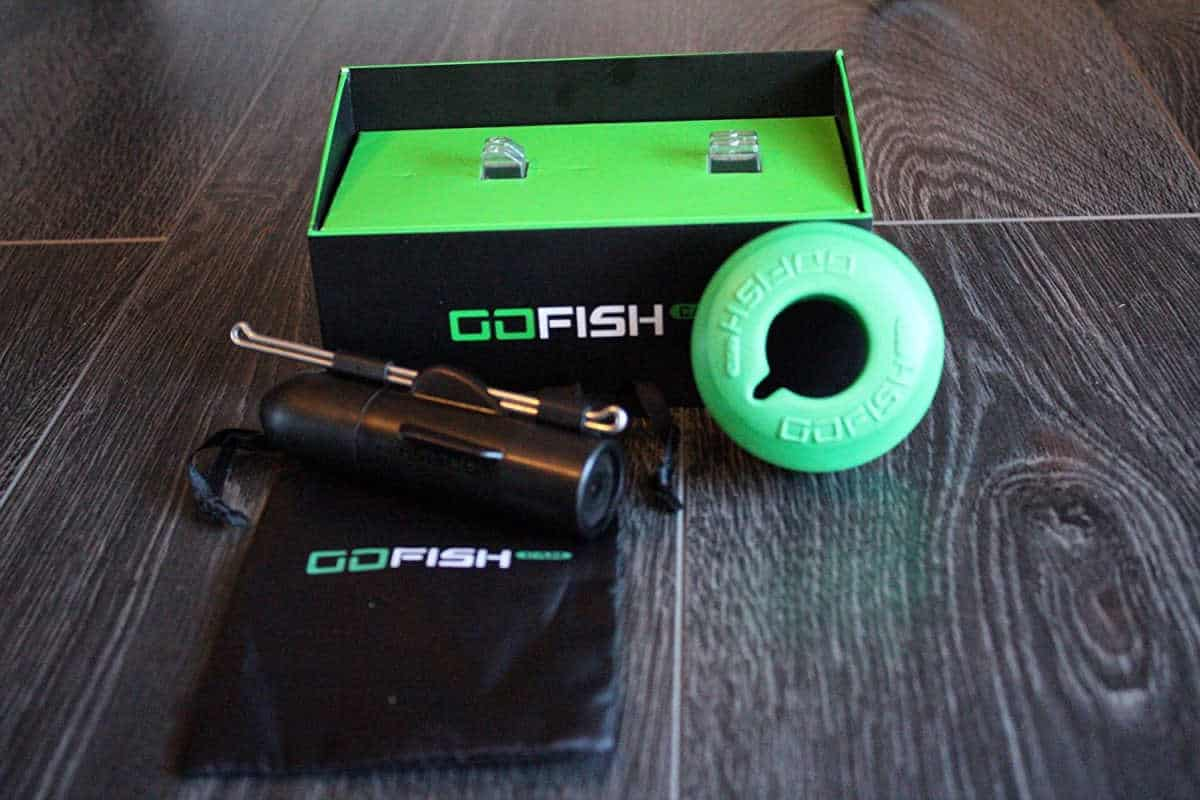 GoFish Cam Wireless Underwater on the table | GoFish Cam | Wireless Underwater Camera Review and First Impressions