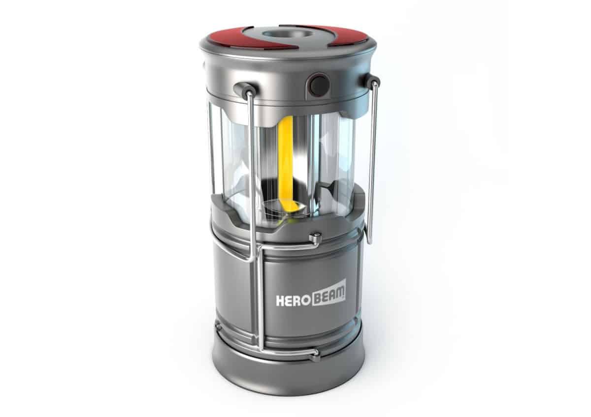 HeroBeam V3 LED Rechargeable Lantern | Best Camping Lanterns For Your Next Outdoor Adventure | Camping Lantern | brightest camping lantern