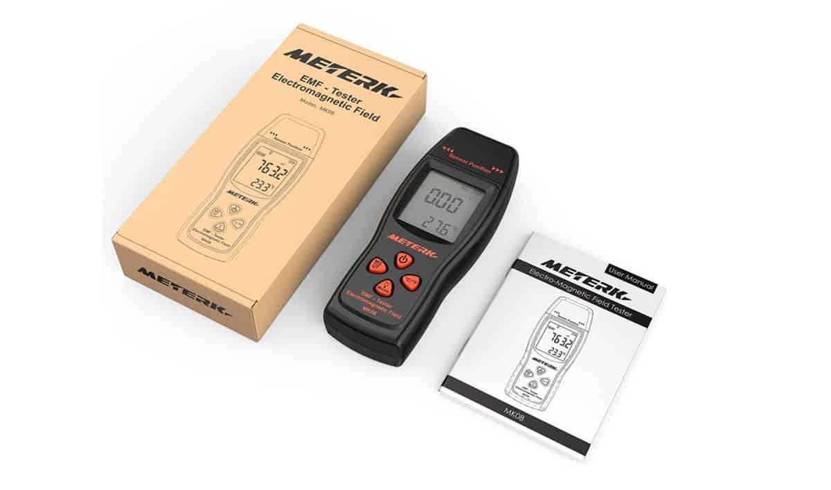 Meterk EMF Meter Electromagnetic Field Radiation Detector | How To Protect Yourself From The Dangers Of 5G Technology | 5g technology companies