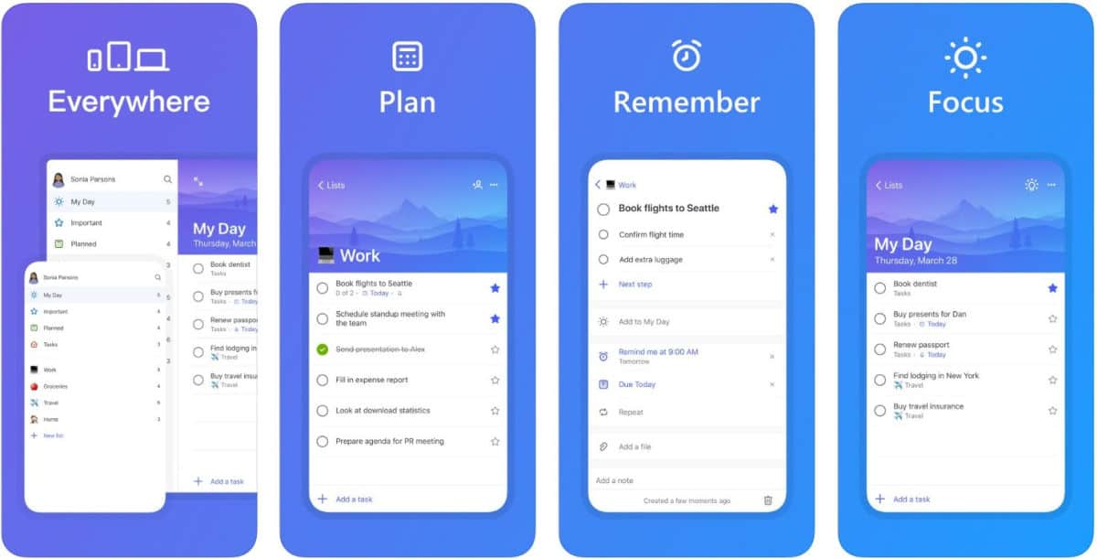 Microsoft To-Do | Best To-do List And Reminder Apps For Android And iOS | Best Reminder App | best reminder app for iphone