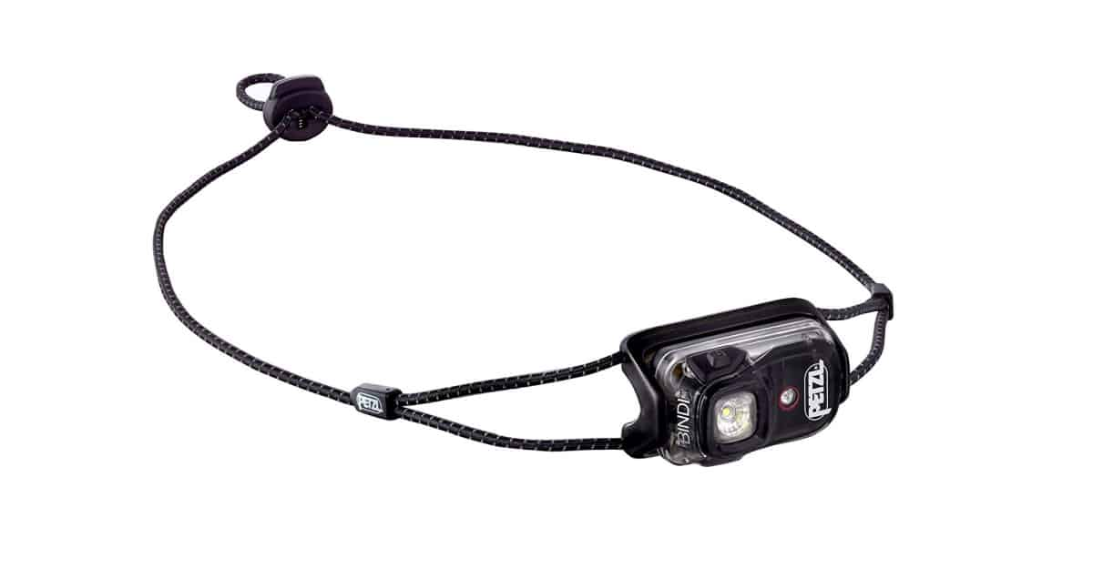 PETZL - Bindi, 200 Lumens, Ultralight, Rechargeable, and Compact Headlamp for Urban Running | Best Hiking Gear and Gadgets You Should Buy This Fall | mens hiking gear