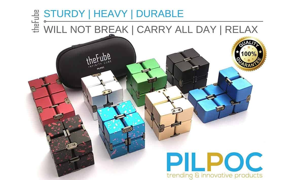 PILPOC theFube Fidget Cube Infinity Cube Desk Toy | Cool Fidget Toys And Gadgets That Are Worth Buying | addictive fidget toys