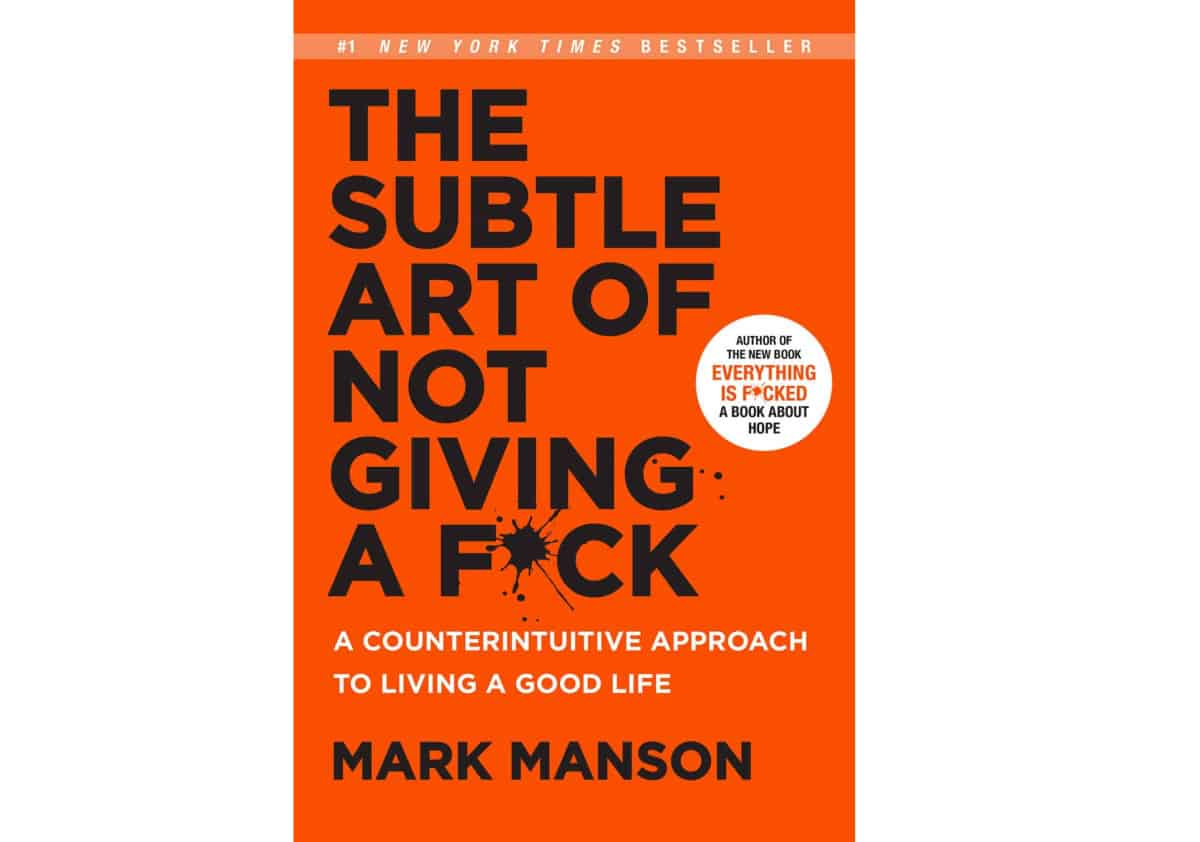 The Subtle Art of Not Giving a F*ck: A Counterintuitive Approach to Living a Good Life | Must-Read NY Times Best Sellers Available on the Amazon Kindle Store | new york times best sellers fiction