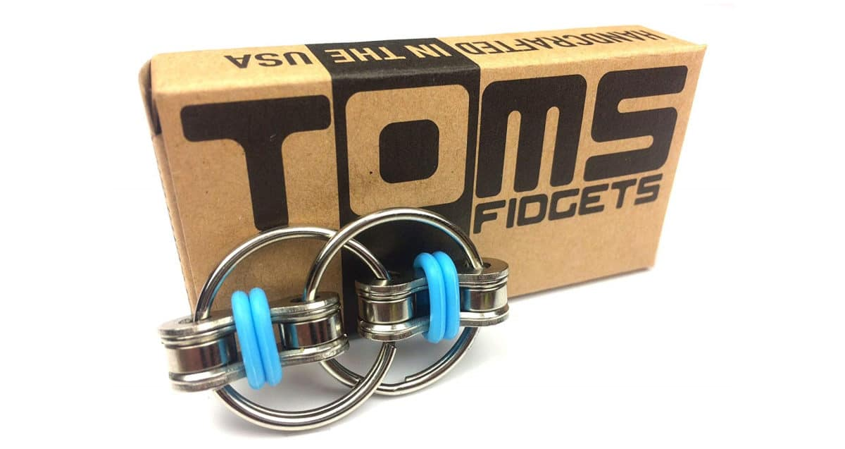 Tom's Fidgets Flippy Chain Fidget Toy Perfect for ADHD | Cool Fidget Toys And Gadgets That Are Worth Buying | addictive fidget toys