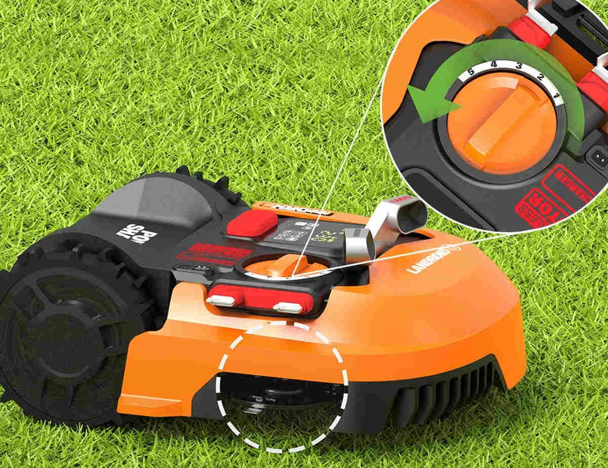 WORX WR150 Landroid L 20V Robotic Lawn Mower | Robotic Lawn Mowers and Other Smart Gadgets for the (Hard) Yard Work | yard gadgets