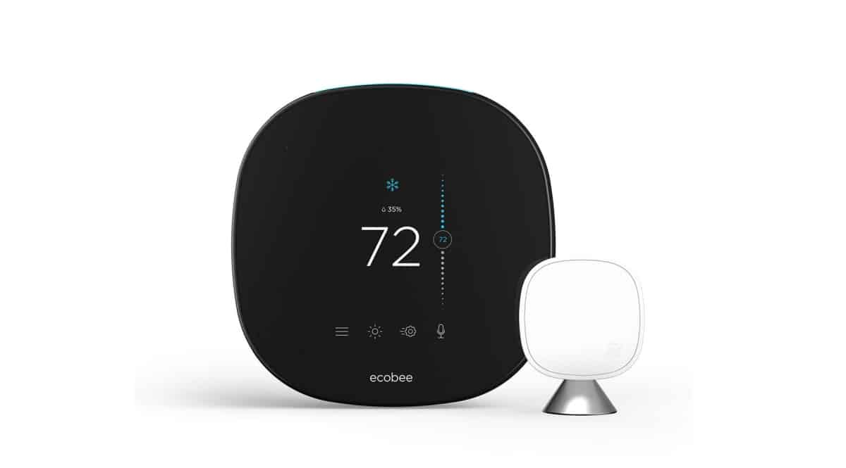 ecobee SmartThermostat with Voice Control | DIY Smart Home Automation Guide: Best Smart Devices From Amazon | diy network smart home