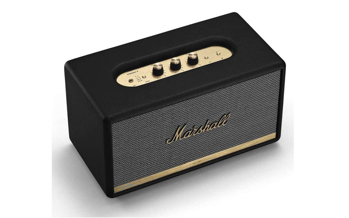 Marshall Stanmore II Wireless Wi-Fi Alexa Voice Smart Speaker | Alexa-Compatible Home Gadgets To Automate Your Home | home security gadgets