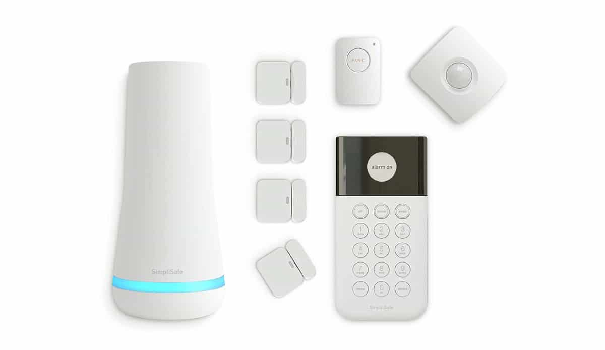 SimpliSafe 8 Piece Wireless Home Security System | Alexa-Compatible Home Gadgets To Automate Your Home | best home gadgets