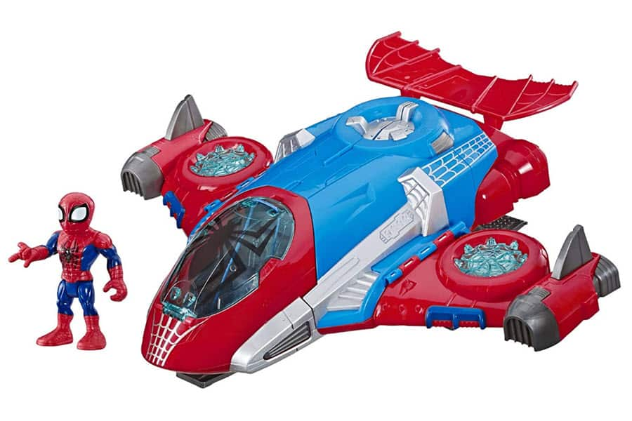 Playskool Super Hero Adventures Spider-Man Jetquarters