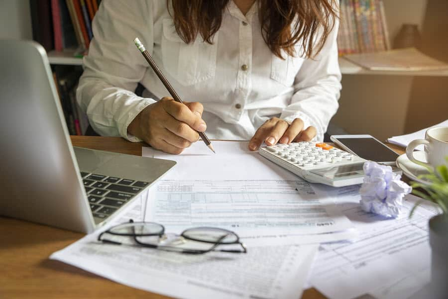 Accountant budget planning