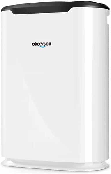 Okaysou AirMax8L Air Purifiers with Ultra-Duo Two Filters